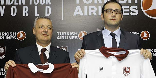 THY Sarajevo'ya sponsor oldu