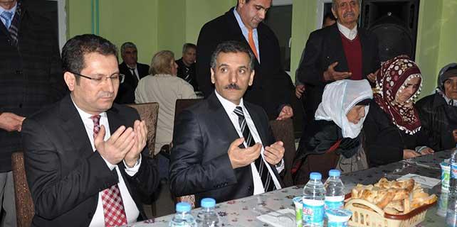 Tunceli Valisi Kaymak Hızır Orucu iftarı verdi