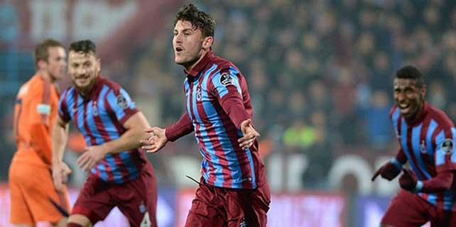 Üç puan Trabzonspor'un