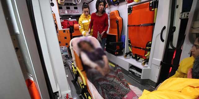 Vücuduna kaynar su dökülen kadın yaralandı