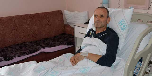 Yaşama şansı yüzde 1′ olan hasta kurtarıldı