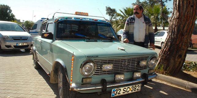39 yıllık Murat 124 otomobiline gözü gibi bakıyor