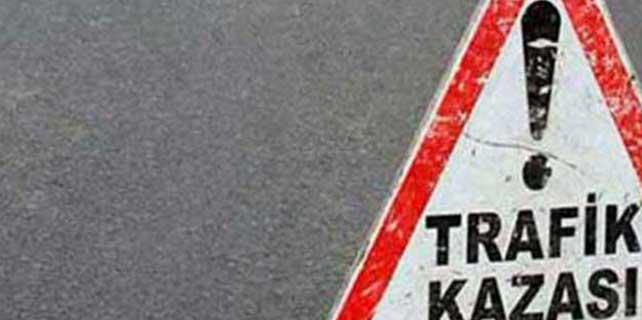 Adana'da, otomobil kayaya çarptı: 2 ölü