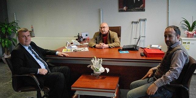 Ahmet Şan'dan Gazetemize ziyaret