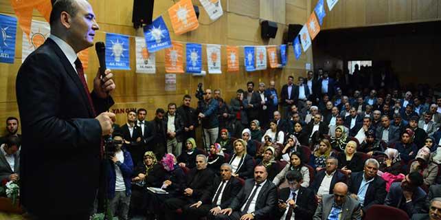 AK Parti Genel Başkan Yardımcısı Soylu, Siirt'te