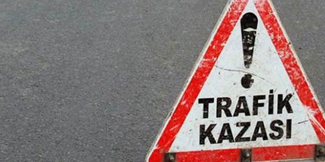 Aksaray'da cip devrildi: 4 yaralı