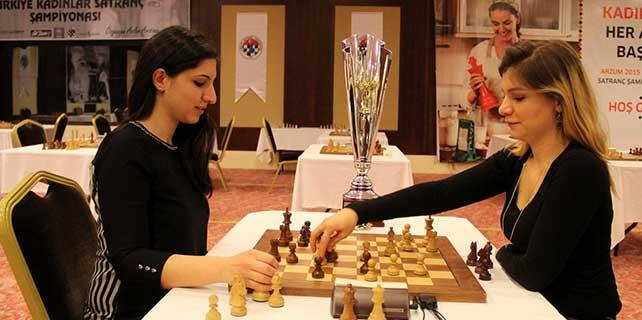 Arzum Türkiye Kadınlar Satranç Şampiyonası son erdi