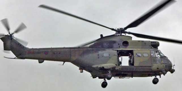 Askeri helikopter düştü: 11 kayıp