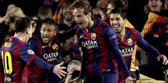 Barcelona ezdi geçti!