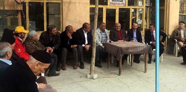 Başkan Tutal vatandaşlarla bir araya geldi