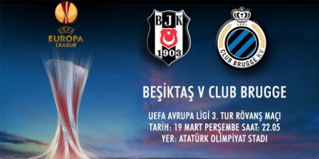 Beşiktaş-Club Brugge maçı hangi kanalda?
