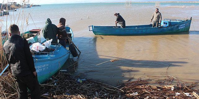 Beyşehir Gölü'nde avlanma yasağı başladı