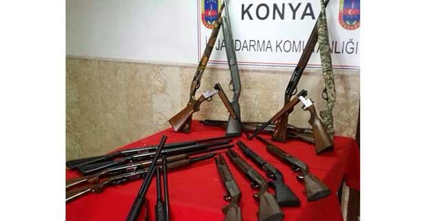 Beyşehir'de yasa dışı silah üretimi