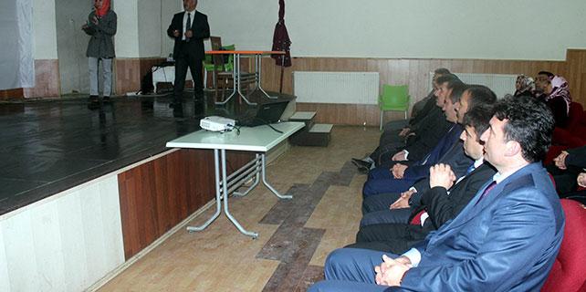 Beyşehir'de YGS öncesi ailelere yönelik motivasyon semineri