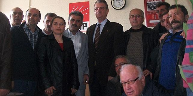 Bozkurt'tan, Hadim CHP İlçe Teşkilatı'na ziyaret