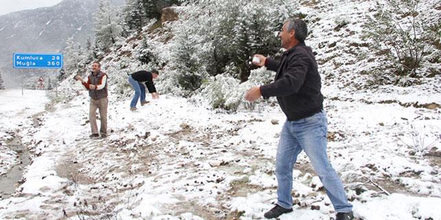 Bu illerde yaşayanlar dikkat!Kar yağışı geri geliyor!