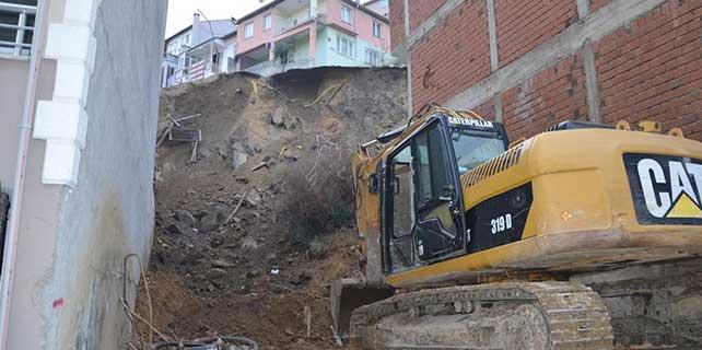 Bursa'da doğal gaz borusu patladı