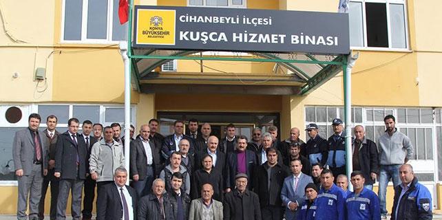 Cihanbeyli Belediyesi'nden 'Mobil Belediye' uygulaması