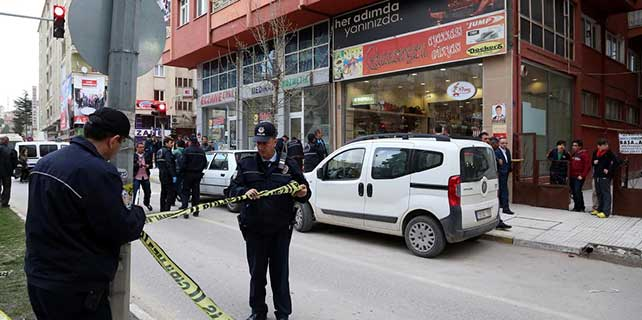 Çorum'da silahlı saldırı: 1 ölü, 1 yaralı