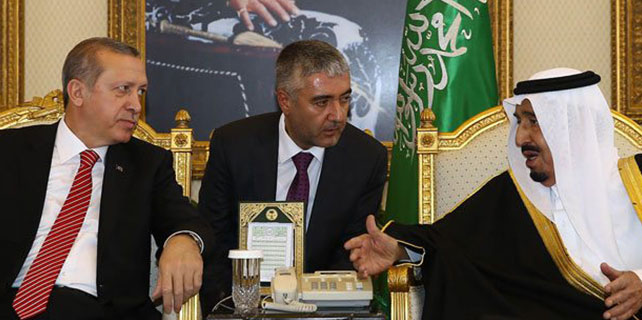 Cumhurbaşkanı Erdoğan, Suudi Arabistan Kralı ile görüştü