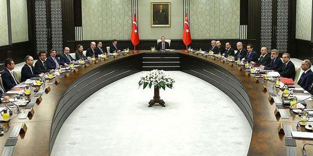 Cumhurbaşkanlığı Sarayı'nda ikinci kabine toplantısı