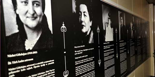 """""""Cumhuriyetin öncü kadınları"""" sergisi"""