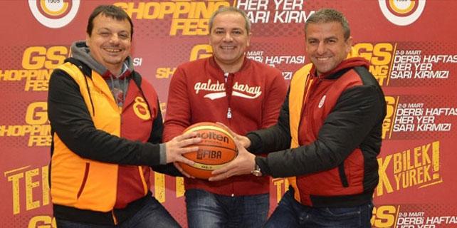 Derbi maçlar öncesi Galatasaray hocaları bir arada