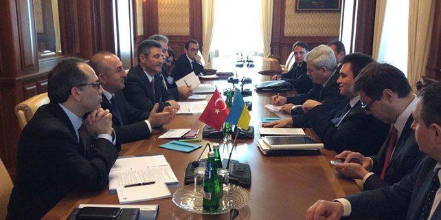 Dışişleri Bakanı Çavuşoğlu Ukrayna'da