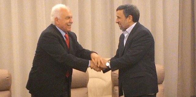 Doğu Perinçek Ahmedinejad ile görüştü