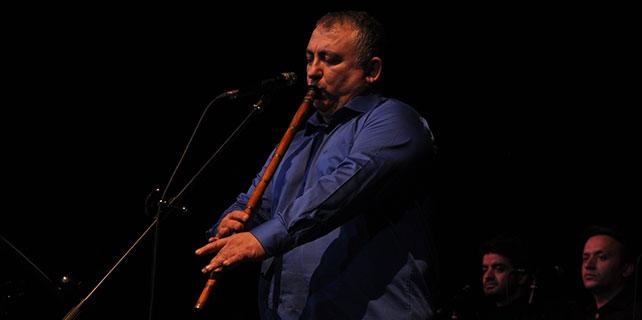 Eskişehir'de Neyzen Süleyman Erguner konser verdi
