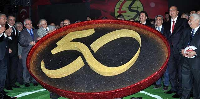 Eskişehirspor'un kuruluşunun 50. yılı kutlamaları