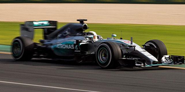 Formula 1'de ilk cep Hamilton'ın
