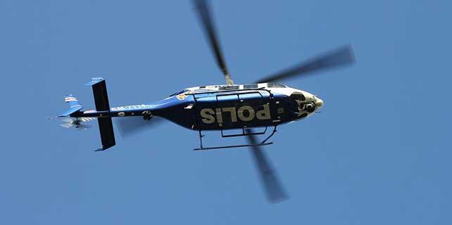 Gasp zanlılarına helikopter destekli operasyon