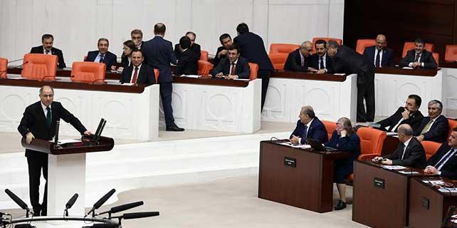 İçişleri Bakanı Ala hakkındaki gensoru önergesi