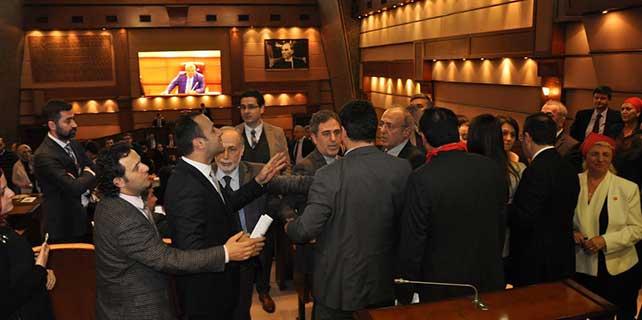 İstanbul Büyükşehir Belediye Meclis toplantısı