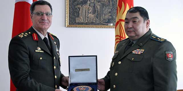 Jandarma Genel Komutanlığı Kurmay Başkanı Yaşar Kırgızistan'da