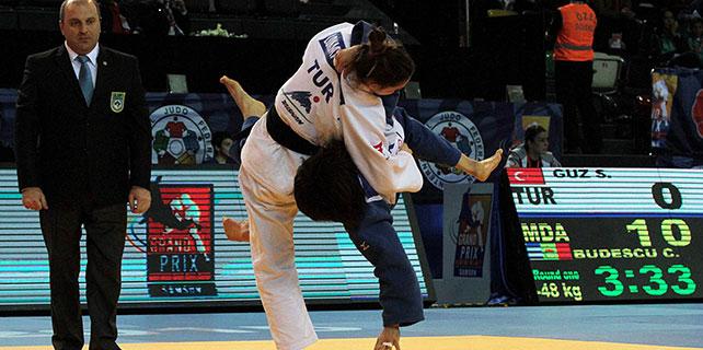 Judo Grand Prix Samsun'da başladı