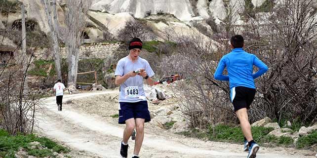 Kapadokya'da oryantiring yarışları
