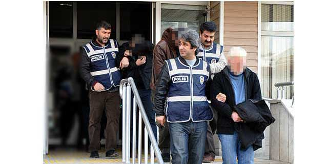 Kırıkkale'de otomobil hırsızlığı iddiasıyla 3 kişi tutuklandı