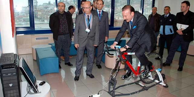 Kocaeli'nde bisiklet kullanımını simülatörle yaygınlaştırma hedefi