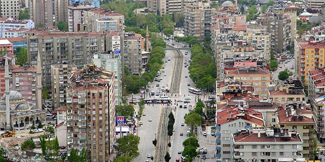 Konya'da Geçici Trafik Düzenlemesi