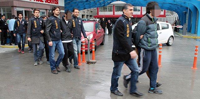 Konya'da hackerlar yakalandı