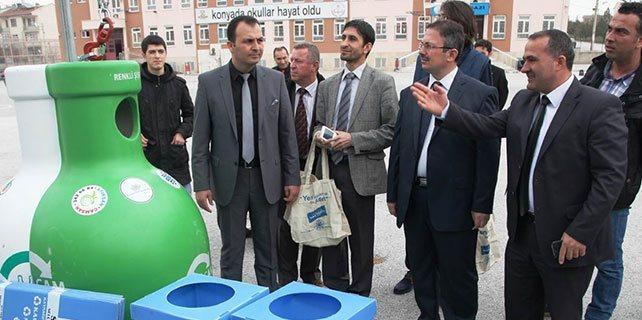 """Konya'da """"Her Şeyi Atma Kullan"""" isimli proje yarışması yapıldı"""