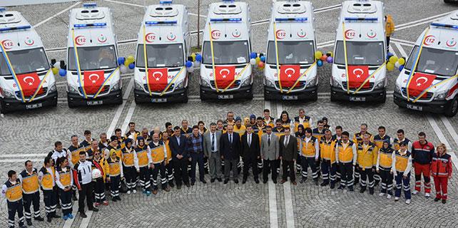 Konya'ya 20 yeni ambulans