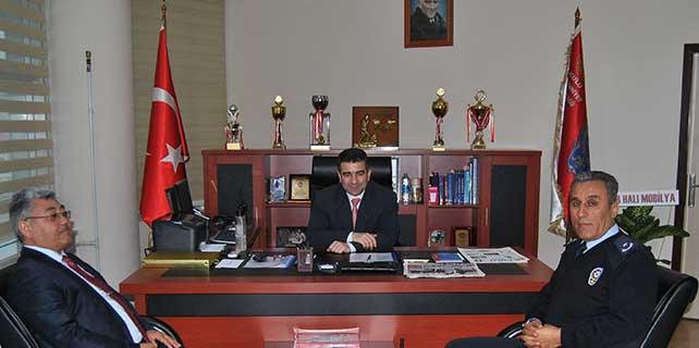 Kulu Belediye Başkanı Yıldız, emniyet müdürünü ziyaret etti