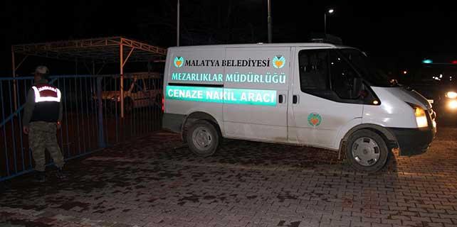Malatya'da arazide kadın cesedi bulunması