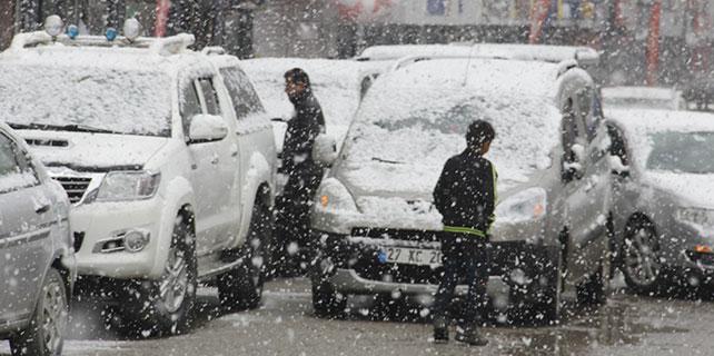 Mart ayında kar sürprizi