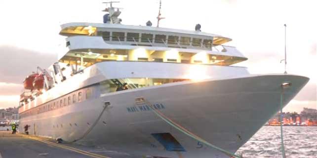 Mavi Marmara gemisi Çanakkale yolunda