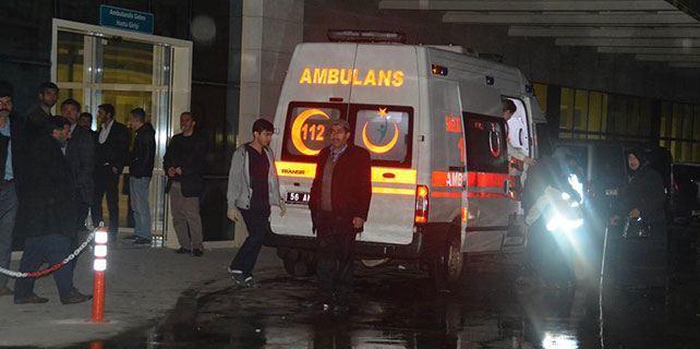 Mehmetçik hastaneye yetiştirdi, dönüş yolunda kaza yaptı