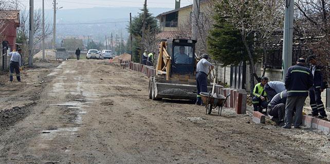 Meram'da çalışmaları sürüyor